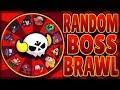 RANDOM Boss Brawl Challenge! | Bo is a TERRIBLE Boss! | Brawl Stars Boss Fight