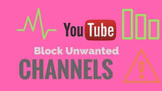 How to block unwanted videos or Channels from YouTube Homepage in google Chrome