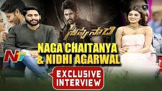 Naga Chaitanya & Nidhhi Agerwal Exclusive Interview About Savyasachi Movie | NTV