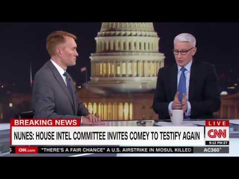 Senator Lankford Discusses Intel Committee Processes on CNN