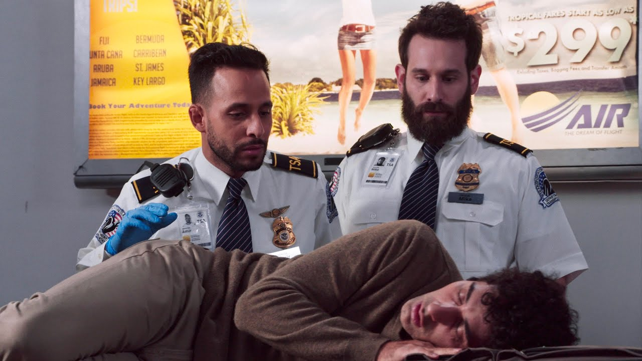 How To Sleep at the Airport | Anwar Jibawi & Lele Pons