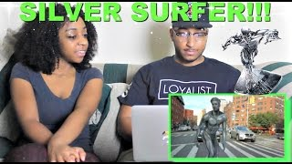 "PrankvsPrank ""EPIC SILVER SURFER HALLOWEEN COSTUME NYC!"" Reaction!!!"