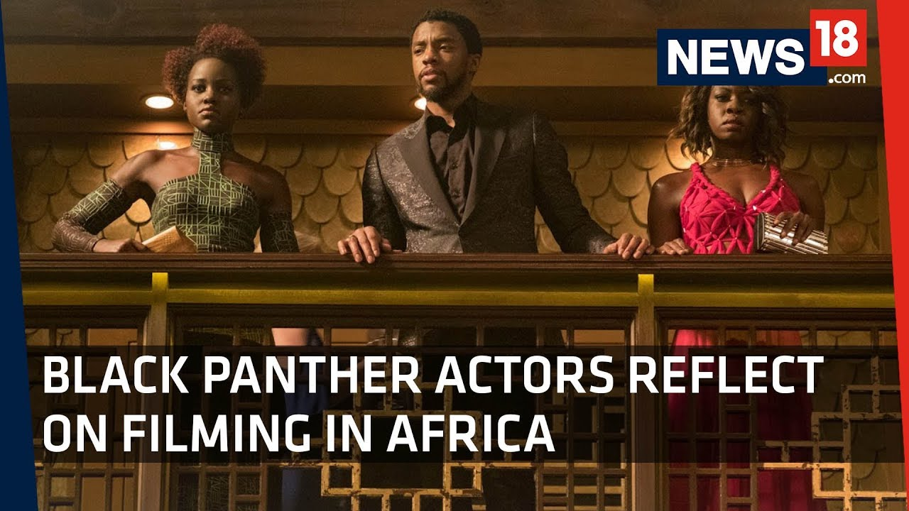 Black Panther Release | Starcast talks about Growing Up Black in the West