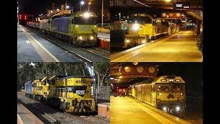 Gambar cover Grain Trains and Light Engine Moves around Bendigo- 30/11 & 1/12 2017