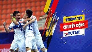 Ngược dòng ấn tượng, Thái Sơn Nam hiên ngang vào bán kết giải Futsal châu Á | VFF Channel
