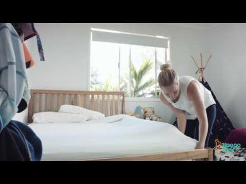 KangoKids Bed rail with memory foam!