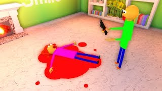 Baldi Kills His Mom (Roblox Animation)