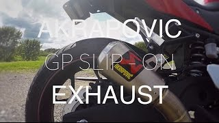 R3 Akrapovic Slip On Exhaust Review