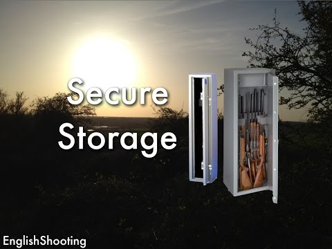 Secure Storage - Storing Guns in the UK