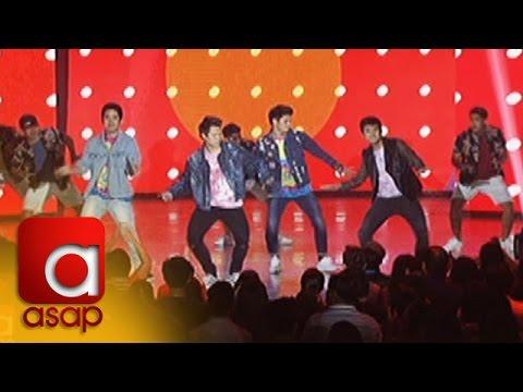 """ASAP: Enrique Gil dances """"Mobe"""" with teen heartthrobs"""