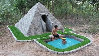 Unbelievable! Build Pyramids And Swimming Pool By Ancient Skill