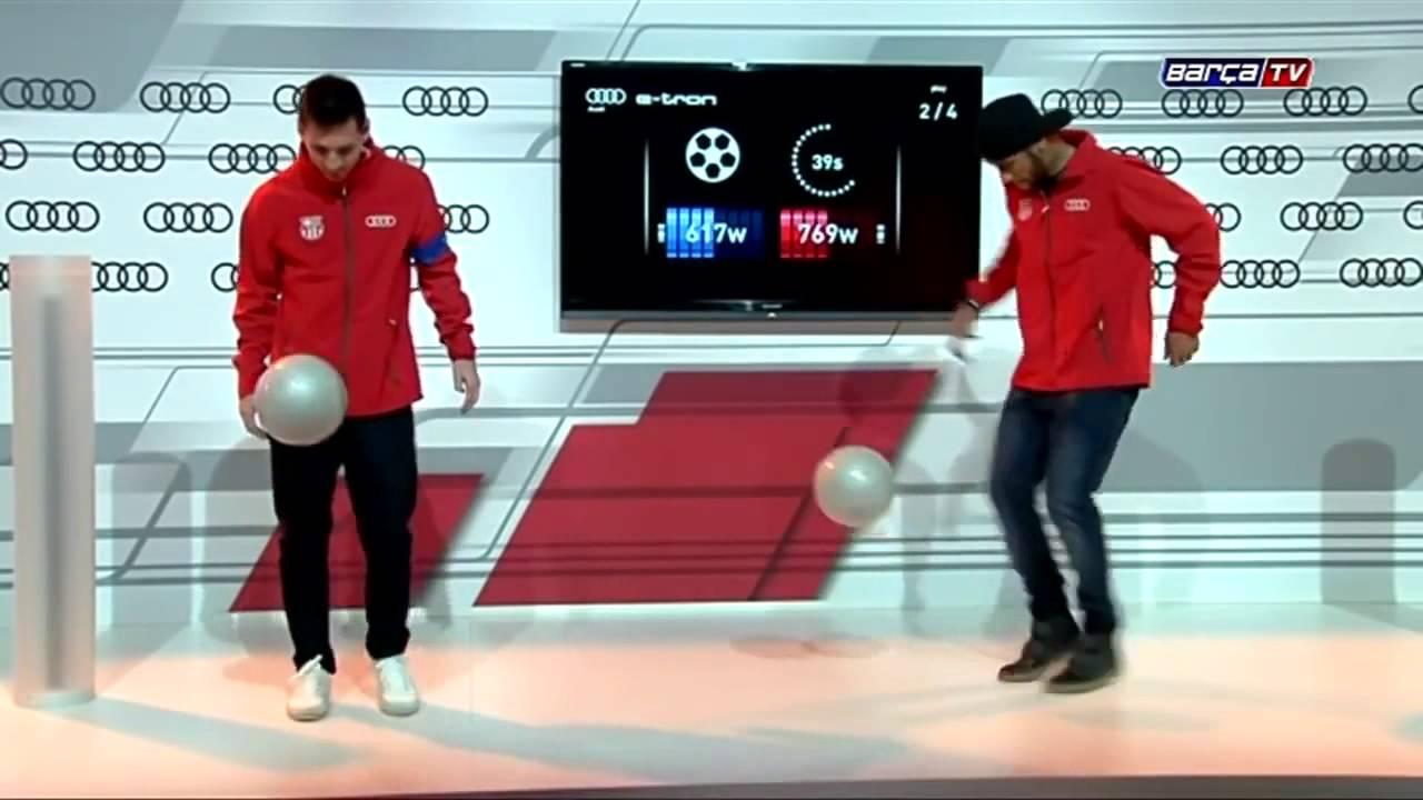 Танцы неймара с мячом