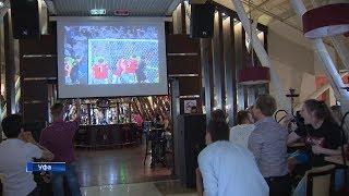 Как уфимские болельщики поддерживали сборную России в матче с Хорватией