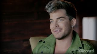 Adam Lambert on His Past Look That Makes Him Roll His Eyes -- and His Newly Refined Rocker Chic