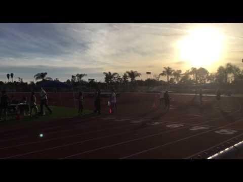 Track & Field 2016 season Rancho Alamitos High School vs Pioneer (Girls Varsity 200 m)