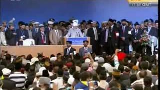 """Shaheedan-E-Lahore Tujh Ko Salam"" concluding moment Jalsa Salana UK-2010."