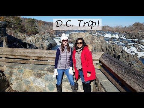 Alexandria, Virginia, Trip | Great Falls, D.C. Eats & More!