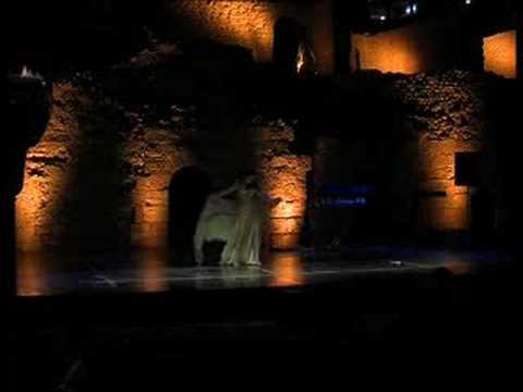 belly dancer Julia Ivanova Aqaba Castle
