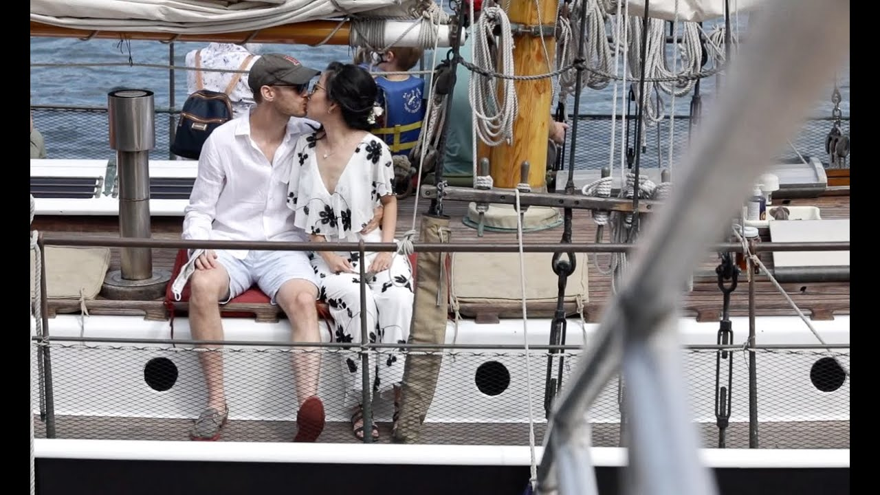 Chris & Ming's Micro-Wedding in Maine Ends on a Sailboat