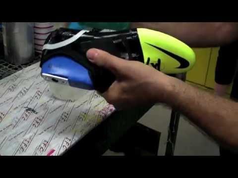 George Bernard Intestinos Educación escolar  Como se hacen los botines Nike GS? - YouTube