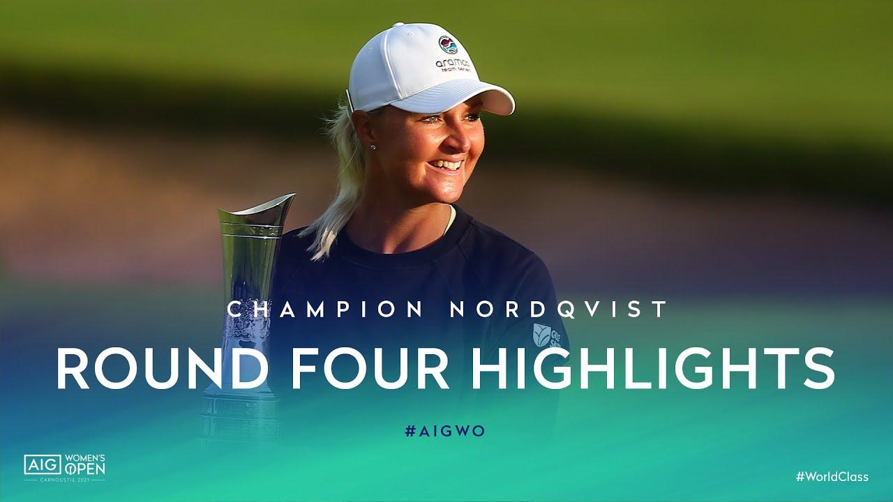 Anna Nordqvist wins Women's British Open