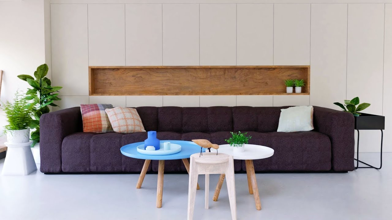 Create a modern interior or how to arrange the furniture in the room 87