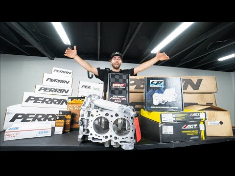 MY $13,000 800+HP Subaru WRX STi Engine Build!!