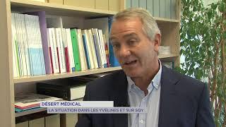 Désert médical : La situation dans les Yvelines et sur SQY