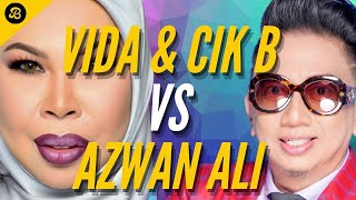 Video Penuh Dato' Seri Vida Azwan Ali. Biadap & Melampau, Azwan Ali Hina Arwah Anak DSV