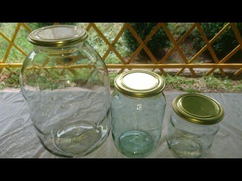 Стерелизация банок/ Подготовка к консервации