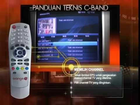 TIPS MEMASANG DEKODER C - BAND  ORANGE TV