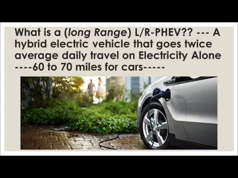 Integrating renewable energy with the long range plug-in hybrid electric vehicle fleet