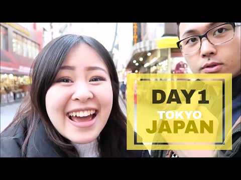 Japan Vlog 1: Flight, 7/11, First day in Tokyo