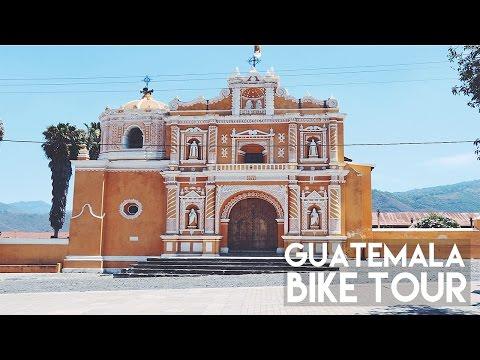 (ALMOST CRASHED!!) WE BIKED TO THE TOP!! // ANTIGUA GUATEMALA!!