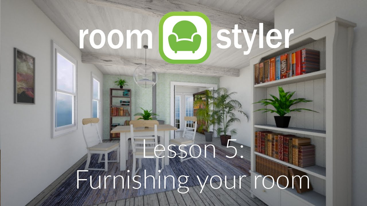 Roomstyler lesson 5 furnishing your room youtube for Roomstyler com