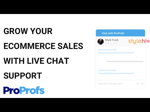 Live Chat Software for Website - By ProProfs