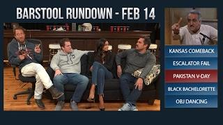 Barstool Rundown - February 14, 2017