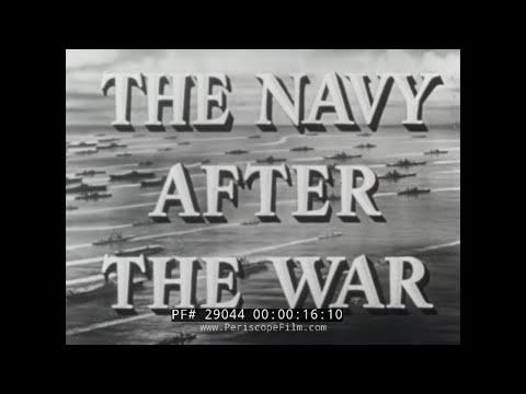 THE U.S. NAVY AFTER WORLD WAR II  1950s PUBLICITY FILM  29044