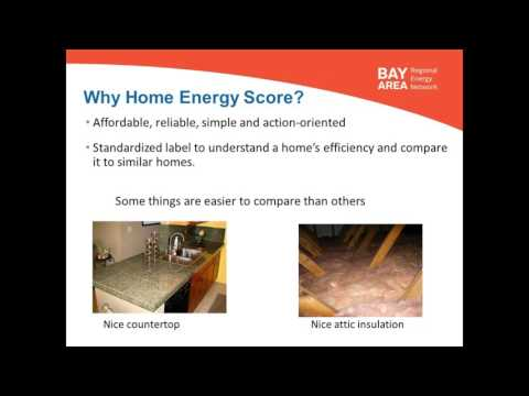 Residential Energy Assessment and Disclosure