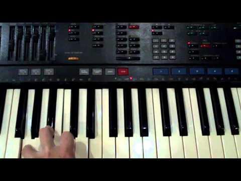 Yamaha PSR-4500 Accompaniment Chord Test