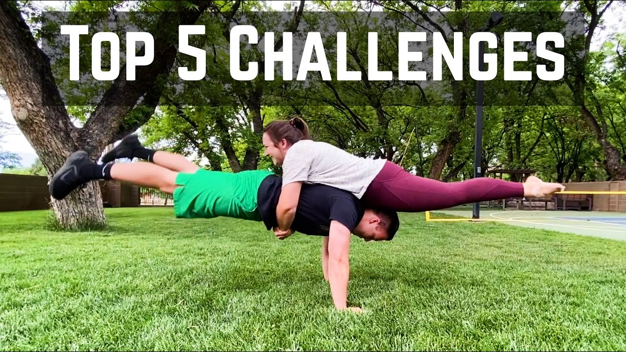 Top 5 Couples Challenges To Try In Quarantine Best Couples Tiktok Challenges 2020 Youtube