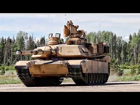 M1A2 Tank • Battle Maneuvers Demo