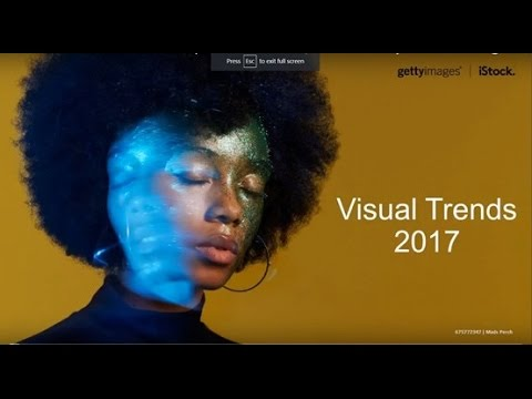 Webinar - Creative Trends 2017: Concepts that will define the year and influence your work