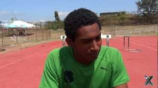Jorel Bellafonte speaks about Champs 2013, Jamaica & The Cayman Islands by SportsXplorer Multimedia