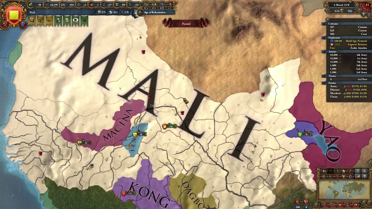 Eu4 Mali - Abu Bakr's Ambition guide/Mali guide