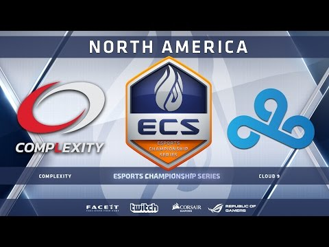 Complexity vs Cloud9 - Cobblestone (ECS Season 2 North America)