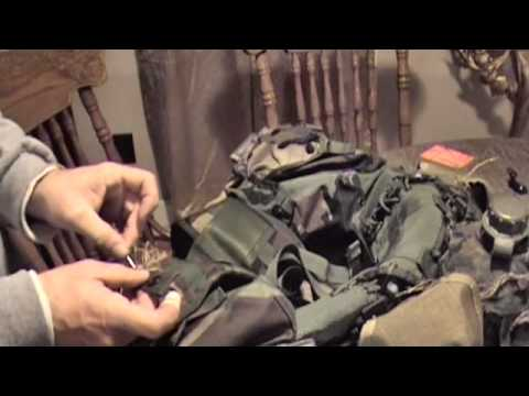 How to sew Camo on to your gear, Needle and Thread