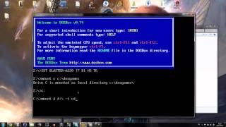 DOSBox Tutorial DOS-Spiele unter Win 7 / Vista Installieren und Spielen Deutsch HD