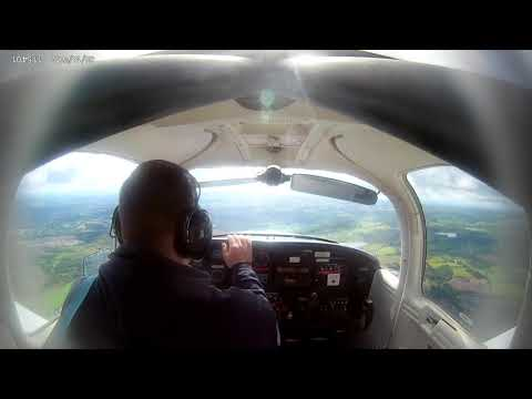 [ATC Audio] Type 1 Diabetic Pilot: Glasgow-Prestwick VFR inc. Circuits.