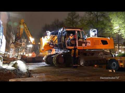 Rolf Riedel, Anlieferung und Montage R 960 Demolition Ehlert&Söhne